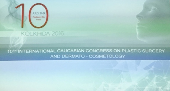 "10TH INTERNATIONAL CAUCASIAN CONGRESS ON PLASTIC SURGERY AND DERMATO-COSMETOLOGY – ""KOLKHIDA"" 2016"". TBILISI, 2016"